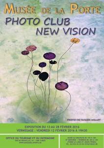 AFFICHE Expo New Vision 13-18 fév 2016