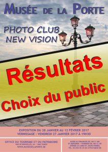 """Découvrez les résultats """"Choix du Public"""" de notre Exposition 2017 au Musée De La Porte à TUBIZE!"""