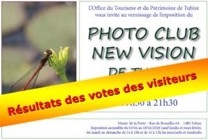 """Découvrez les résultats des votes """"Choix du Public"""" de notre Exposition 2018 au Musée De La Porte à TUBIZE!"""