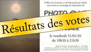 """Découvrez les résultats des votes """"Choix du Public"""" de notre Exposition 2020 au Musée De La Porte à TUBIZE!"""